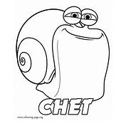 Turbo  Chet Coloring Page
