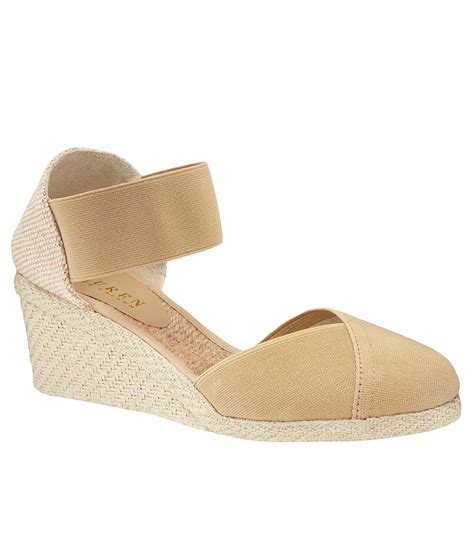 Flatshoes Charla lyst by ralph charla espadrille wedge in brown