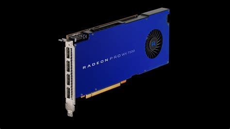 Amd Radeon Pro Wx 7100 amd announces radeon pro wx 7100 gpu designed for professional vr editing videocardz
