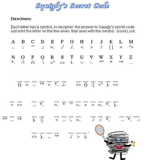 s day secret code worksheets decoder activity sheets search