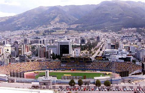 imagenes medicas quito el estadio ol 237 mpico atahualpa est 225 de aniversario conmebol