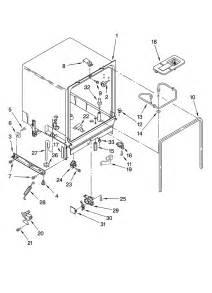 Dishwasher Parts Kenmore Kenmore Dishwasher Cabinet Parts Model 66517722k900