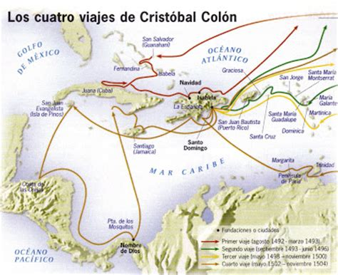 rutas de los barcos de cristobal colon los viajes de crist 211 bal col 211 n rutas de crist 211 bal col 211 n