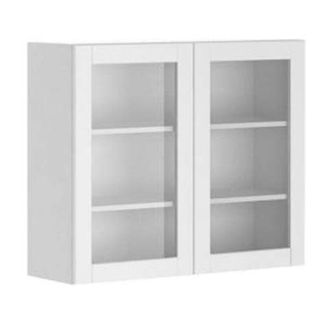 fabritec 36x30x12 5 in amsterdam wall cabinet in white