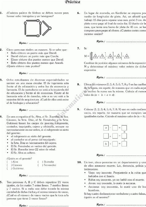 preguntas cuadradas juego matematico ejercicios con razonamiento l 243 gico matem 225 ticas