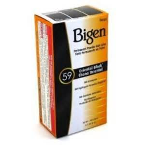 bigen color bigen 59 black permanent powder hair color 6