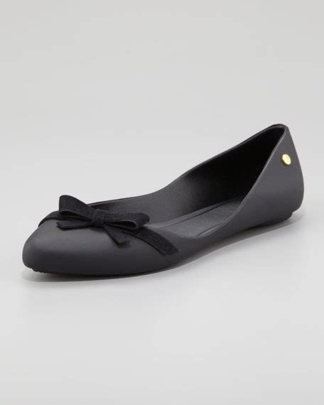 are melissa shoes comfortable melissa shoes trippy bow skimmer black