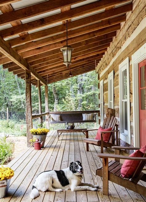 Cabin Porch by Best 25 Cabin Porches Ideas On Pinterest Cabin