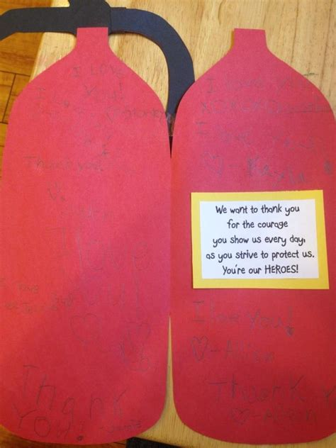 Thank You Card Crafts For Preschoolers