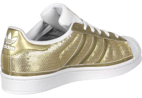 adidas superstar w shoes gold weare shop