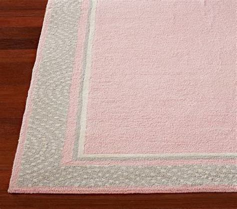 Pink And Grey Nursery Rug Thenurseries Nursery Rugs