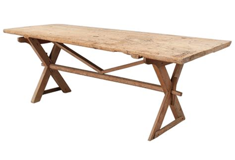 pine trestle dining table c 180s pine swedish trestle dining table omero home