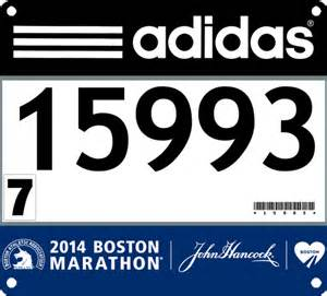 Race Bib Template by Running Against The Grain I Bandited The 2014 Boston Marathon