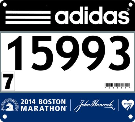 Race Number Template running against the grain i bandited the 2014 boston marathon