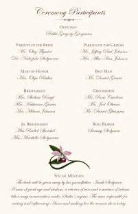 Exceptional Wedding Script #1: E_Wedding_Program_Page_2_Orchids.jpg