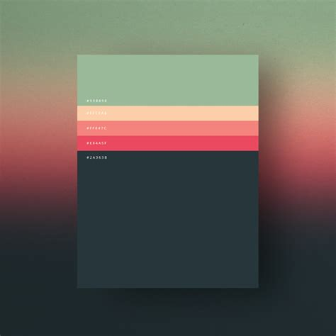 color palettes 8 beautiful color palettes for your next design project