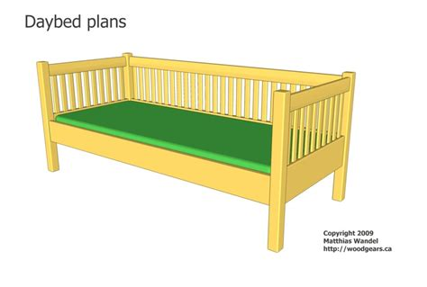 diy daybed plans 23 best images about diy beds on pinterest bed rails