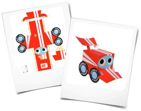 Paper Courses - paper toys jesuisanimateur fr