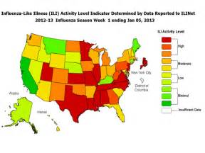 cdc seasonal influenza flu weekly report influenza