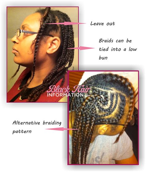 wn com how i style my braids how to wear a short wig or weave when you have long hair