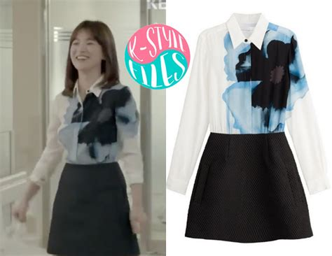 Abw Dots Descendants Of The Sun Fashion Dress Song Hye Kyo Import Be song hye kyo 송혜교 be happy our october page