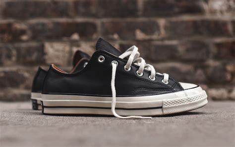 Converse 70s Suede Ox Black converse chuck ox 70 black leather sneaker bar