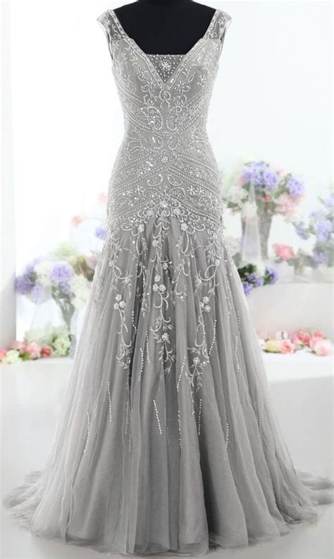 Forgoes Black And Grey For Once by 25 Best Images About Silver Prom Dresses On