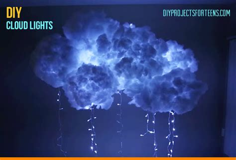 cool room lights youtube how to make a diy cloud light