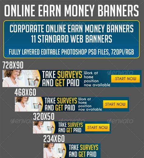 Make Money Online Banner - free and premium web banners 56pixels com