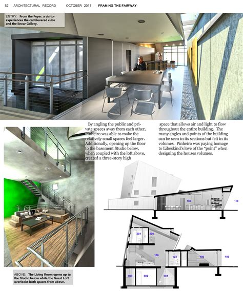 Home Design Architecture Magazine The Revit Kid Project House For An Architect