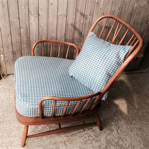 ercol armchairs pair of vintage ercol jubilee armchairs by iamia