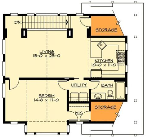 garage apartment plans with kitchen plan 23484jd craftsman garage apartment 2nd floor