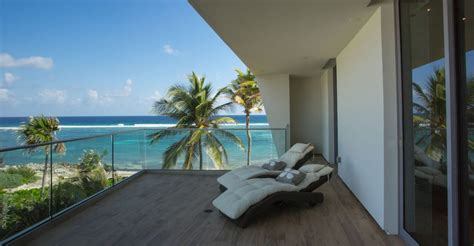 bedroom ultra contemporary beach house  sale rum point grand cayman cayman islands