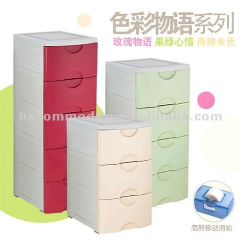 plastic storage drawers for clothes in 5 layers plastic foldable drawer with two locks buy