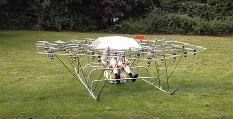 video of the day guy builds crazy flying machine using 54