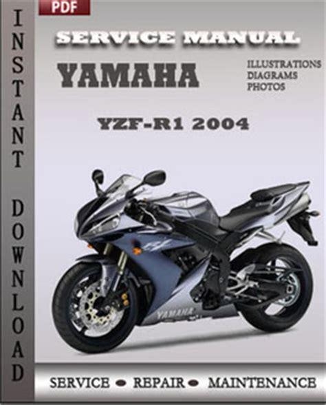 yamaha yzf r1 2004 service manual repair