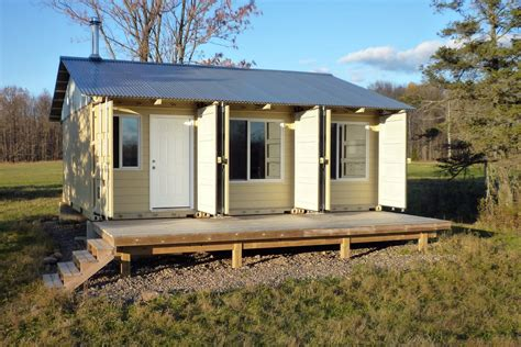 shipping container cottage sense and simplicity shipping container cabin update