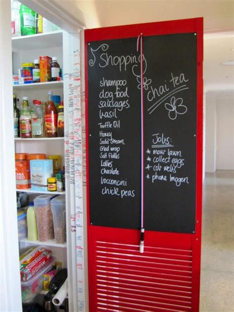 Pantry Chalkboard by Chalkboard Pantry Door Home Decorating Trends Homedit