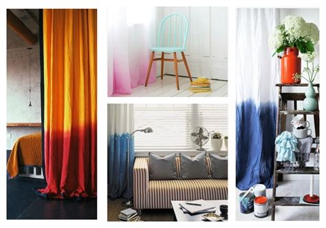 where can i get curtains dyed diy dip dyed ombre window panel curtains
