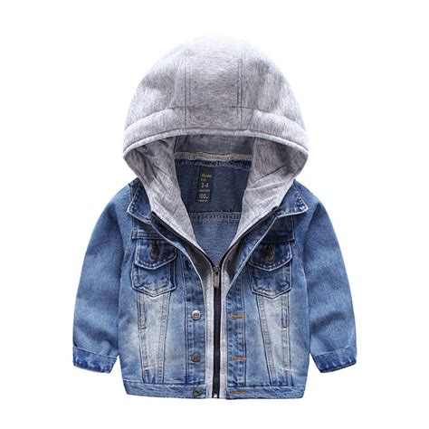 Jaket Hoodie Cewek Jaket Hoodies Outwear Hoodies baby boy toddler denim jacket cowboy hoodie coat hooded outwear clothes top ebay