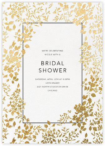 free electronic wedding shower invitations inspirational bridal shower invitations chagne ideas