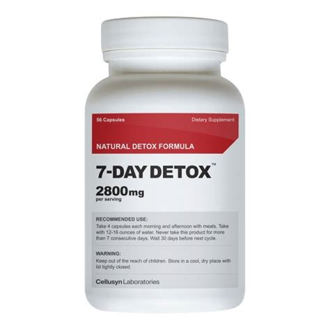 Detox And Burner by 7 Day Detox Colon Cleanse Diet Pill Weight Loss