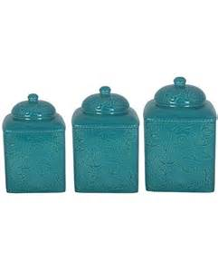 kitchen decorative canisters 21 teal kitchen canister sets house decor ideas