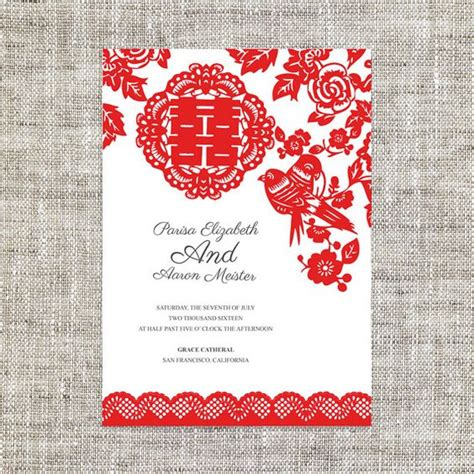 asian wedding card template diy printable editable wedding invitation rsvp