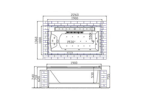 baignoire encastrable baignoire rectangulaire encastrable 190x160 baignoire