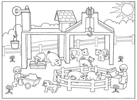 imagenes de animales de granja para colorear dibujos de animales de granja para colorear cerdos