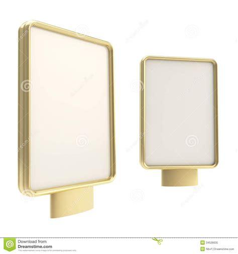 panneau d affichage ext 233 rieur de copyspace d 233 talage verticale d isolement photo libre de