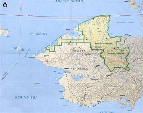 texas national parks map mountain lakes