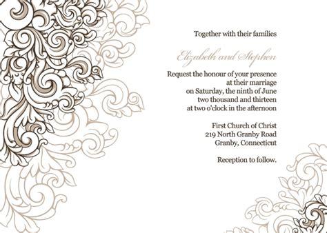 Wedding Letter Borders by Invitation Letter Border Designs Letters Free Sle