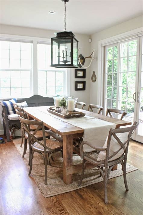 Dining Room Awesome Rustic Dining Table Decor Images Of Decorate Dining Room Table